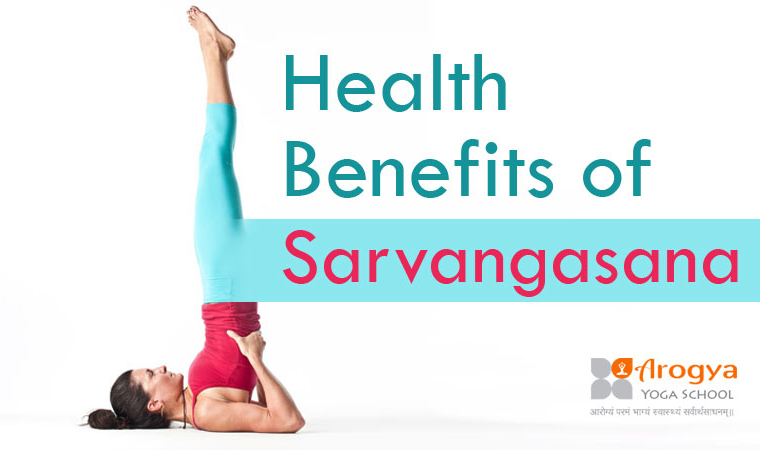 15 Health Benefits Of Sarvangasana Shoulder Stand Yoga Pose