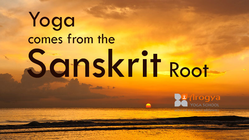 The Word Yoga Comes From The Sanskrit Root Yoga Is A Science