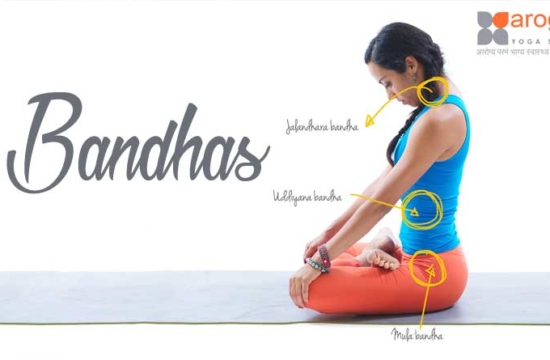 Bandhas in Yoga are energetic locks