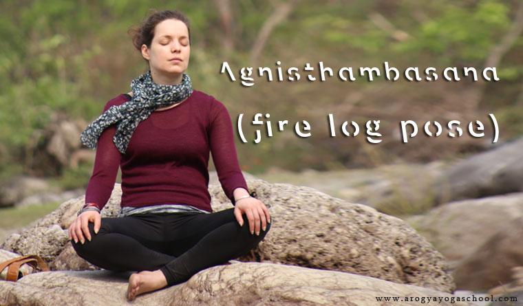 Health Benefits of Agnisthambasana (fire log pose)