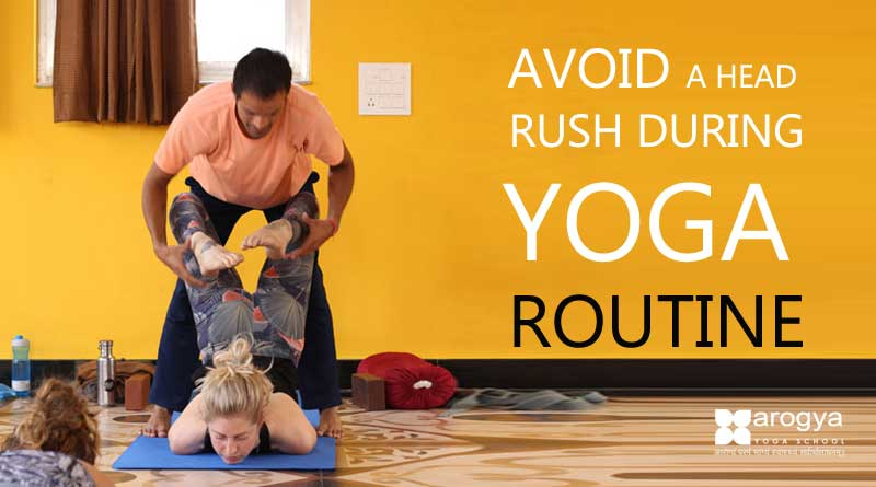 How to Prevent a Head Rush in Yoga Class