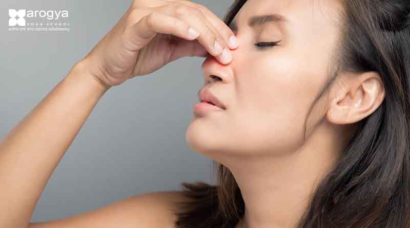 YOGA POSES TO ALLEVIATE SINUSITIS